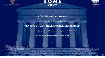 La Ryder Cup nella Valle dei Templi