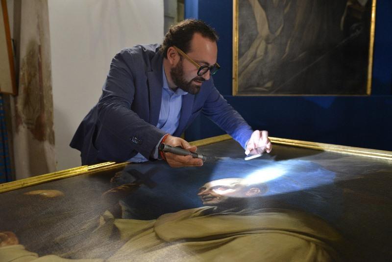 Antonio d'Amico curatore mostra guido reni