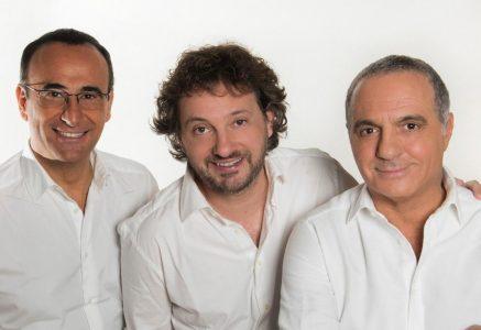 Carlo Conti, Leonardo Pieraccioni e Giorgio Panariello