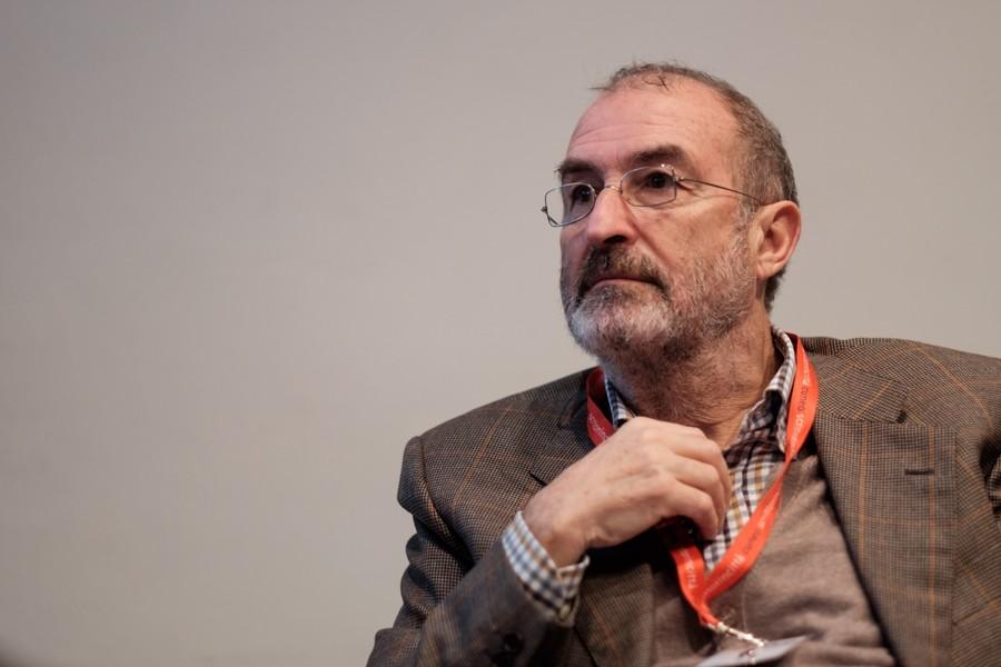 Lo scrittore Paolo Chicco