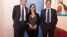 Bernhard Scholz, Cristina Scuderi e Salvatore Abate. Foto Brunella Bonaccorsi