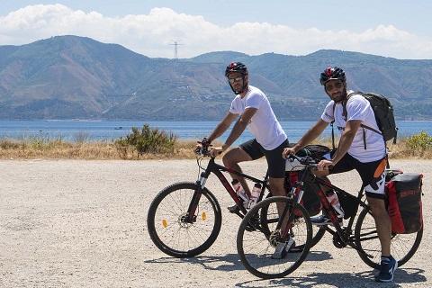 viaggio in sicilia bici