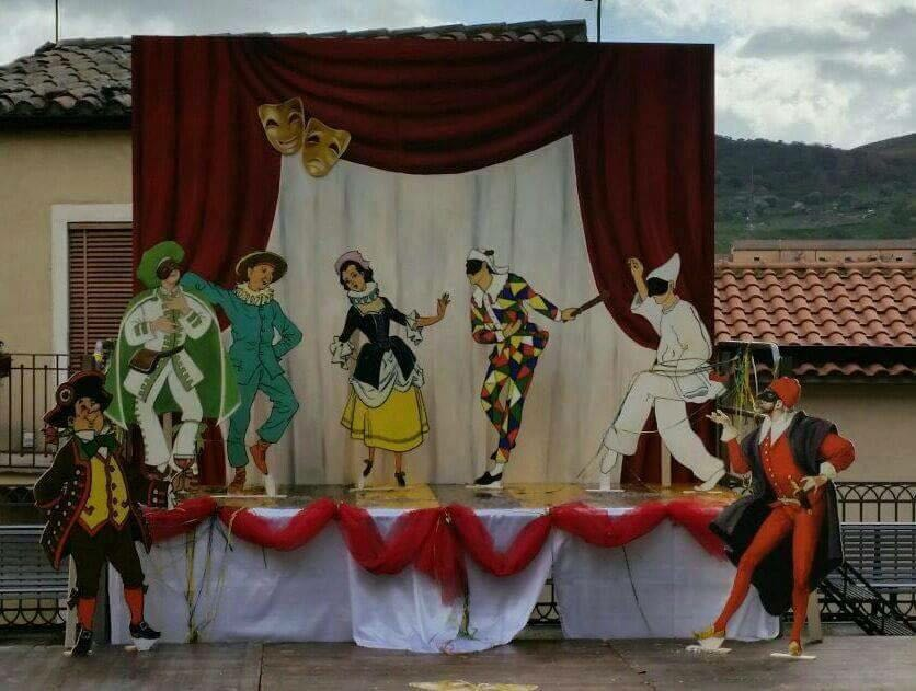 Pantomima di Carnevale organizzata dal Comitato Donne di nicosia