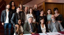 cast sei personaggi in cerca d'autore (foto Brunella Bonaccorsi)