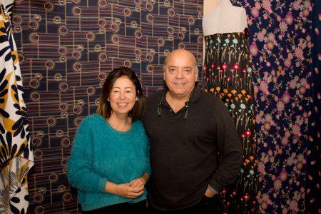 Marella Ferrera Edo Scirè curatore della mostra su Carosello.Foto Brunella Bonaccorsi