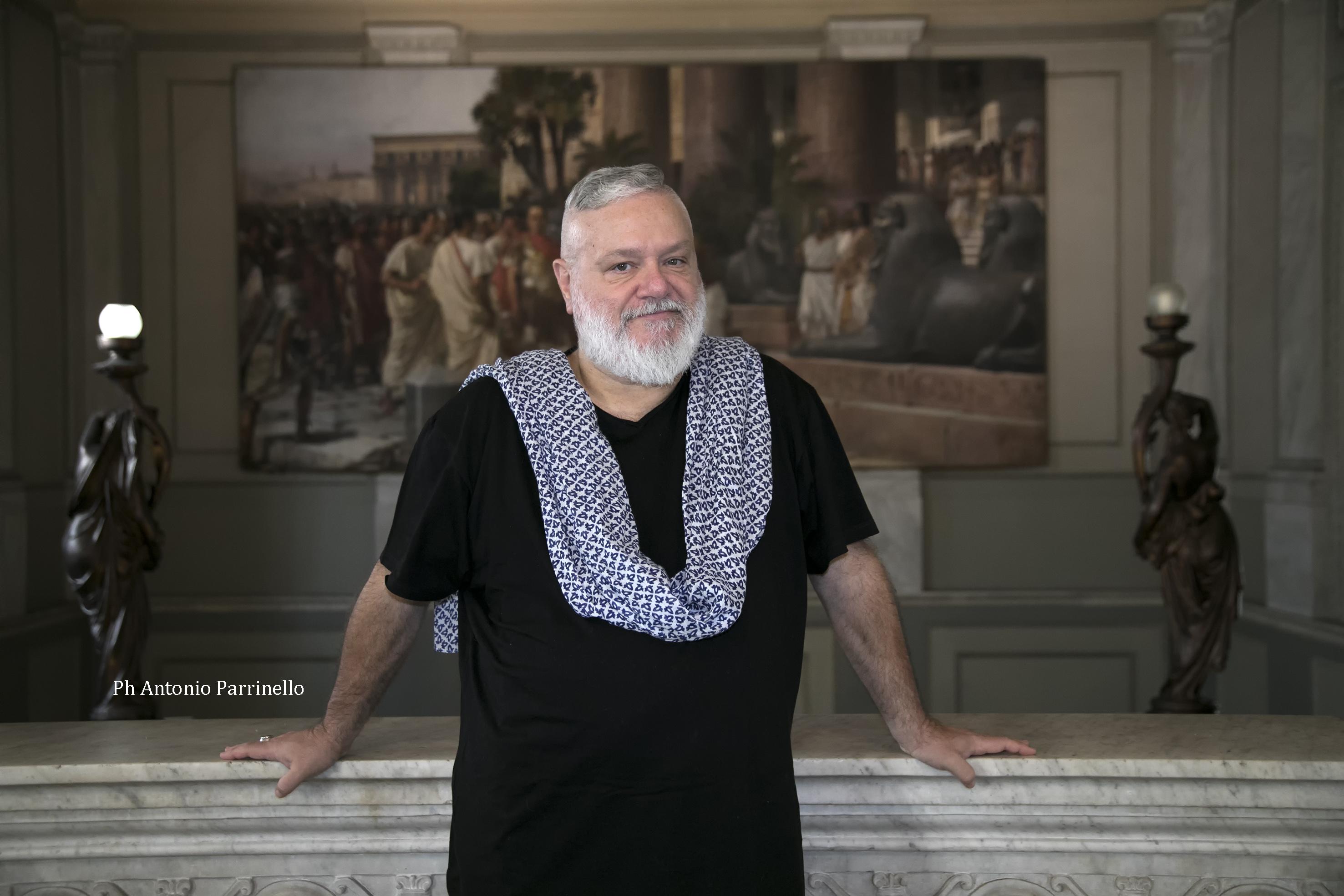 Fabio Grossi. Foto Antonio Parrinello