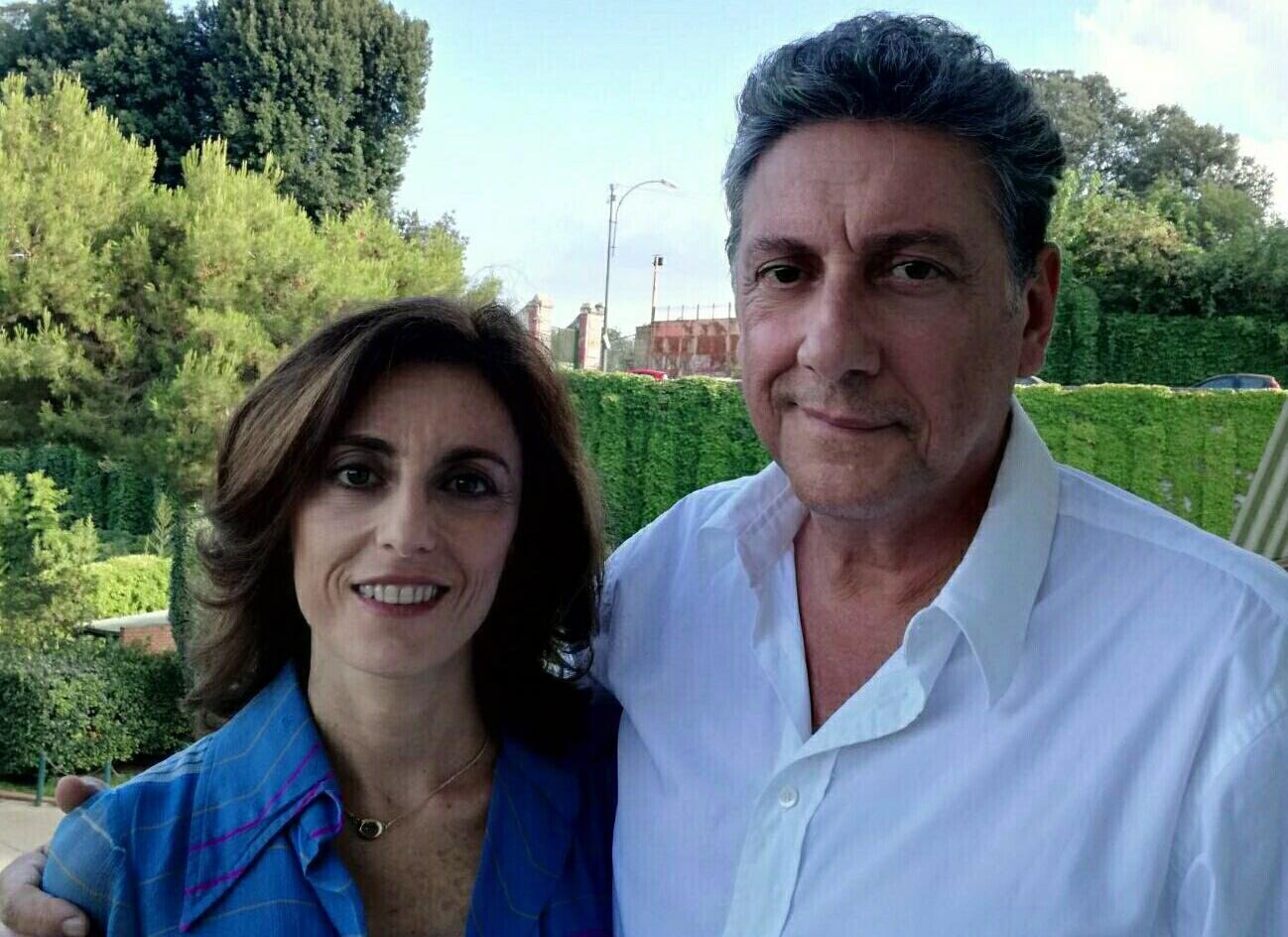 Manuela Ventura e Sergio Castellitto
