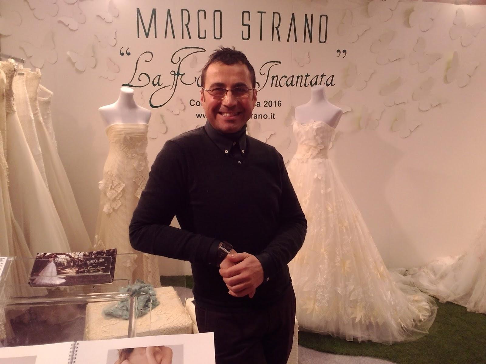 Lo stilista Marco Strano Lei, femminilesingolare, la nuova collezione firmata Marco Strano