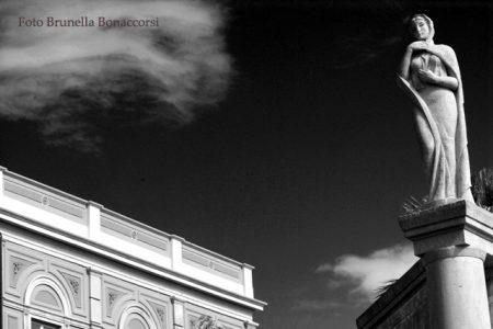 Particolare villa Bellini. Foto Brunella Bonaccorsi