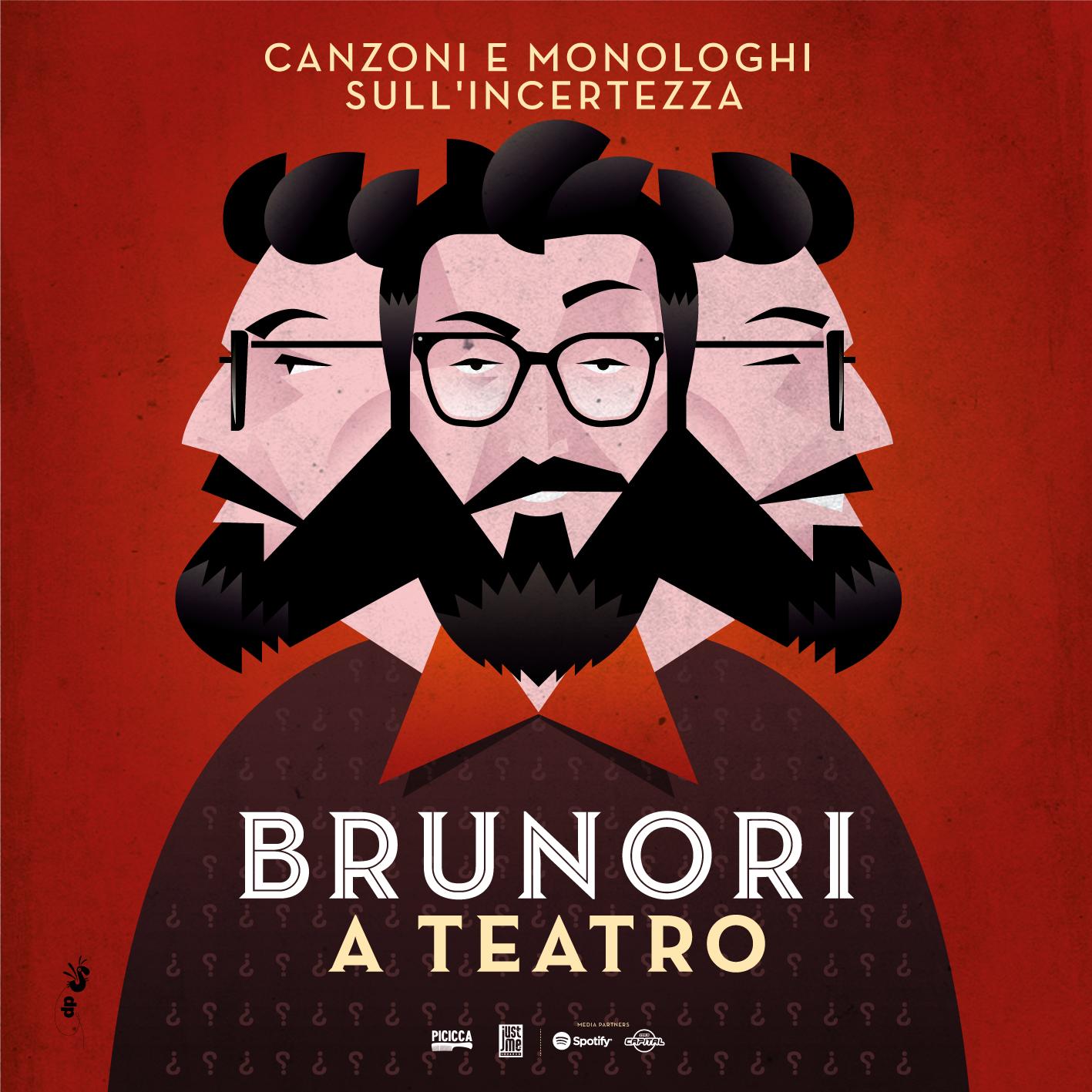 Brunori Sas, canzoni e monologhi sull'incertezza