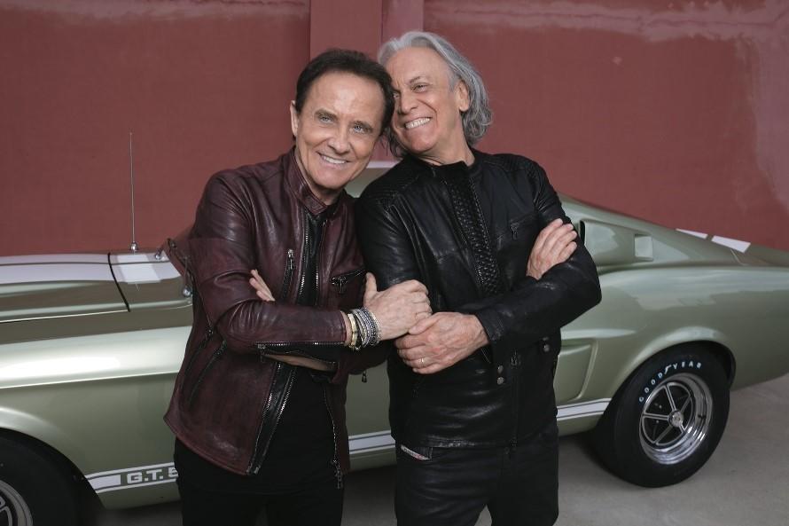 Roby Facchinetti e Riccardo Fogli (foto di Luisa Carcavale)