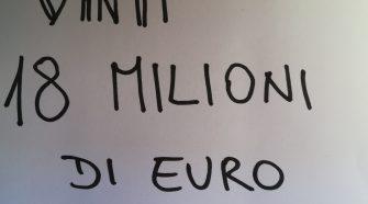 18 milioni vinti