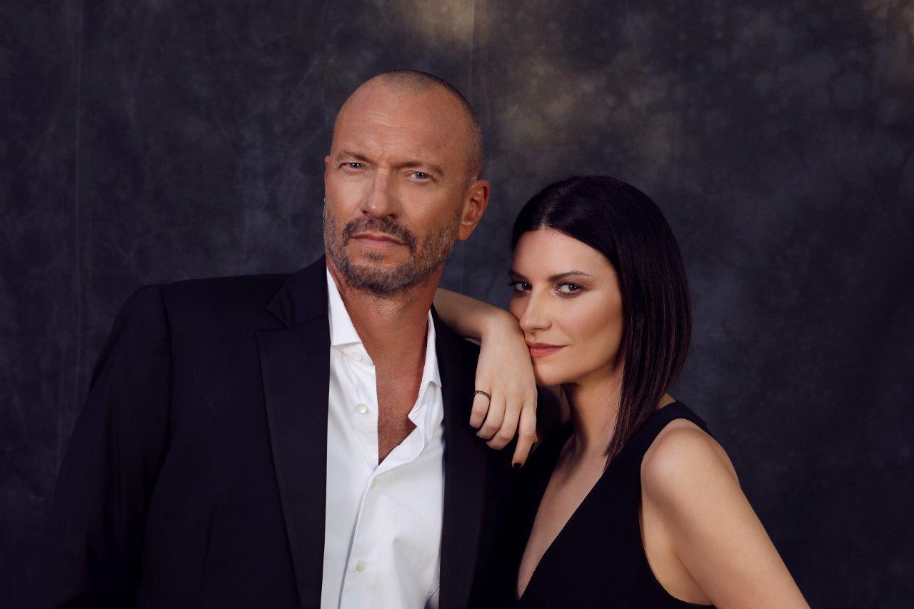 Laura Pausini e Biagio Antonacci (foto di Cosimo Buccolieri)
