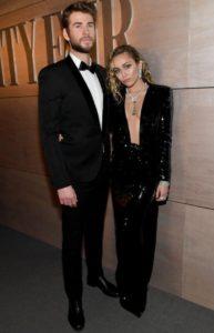Miley Cyrus e Saint Laurent