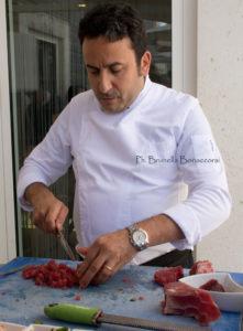 Lo chef Natale Giunta. Foto Brunella Bonaccorsi