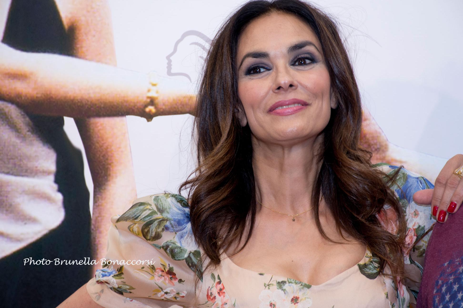Maria Grazia Cucinotta. Foto Brunella Bonaccorsi