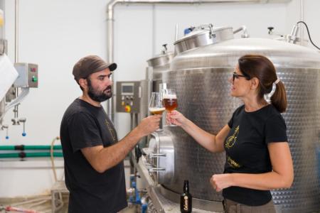 birra Ciaurùsa mastra siciliana (foto di Alfio Scigliano)