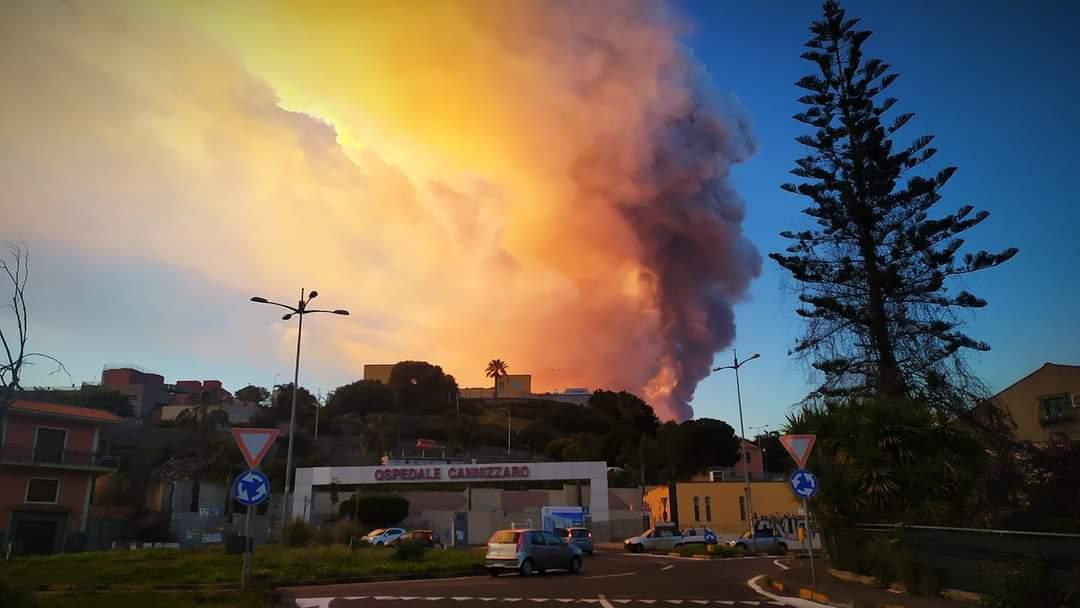 Eruzione Etna (foto di Alfonso Di Natale)